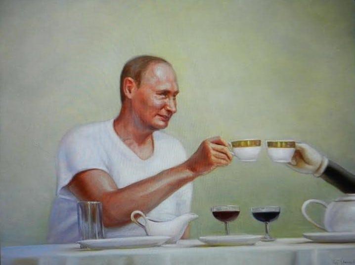 Кай Стенвал. Московский чай