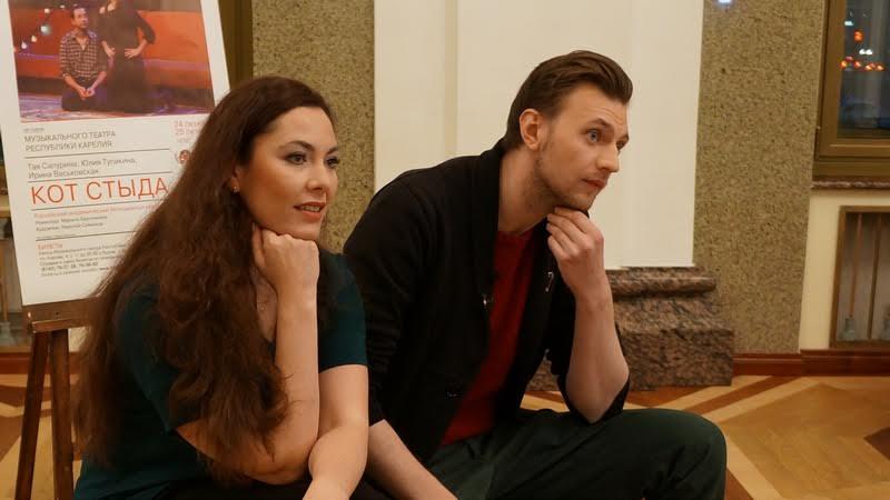 Янина Соколовская и Максим Керин. Фото Ирины Ларионовой