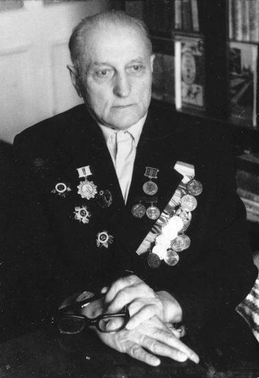 Николай Андреевич Коваленко в последние годы жизни