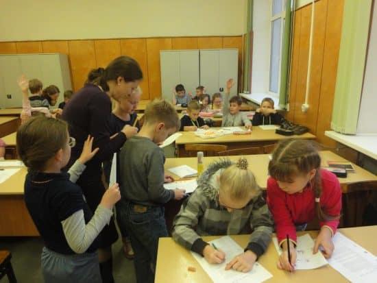 """На занятии в кружке """"Математический субботник"""""""