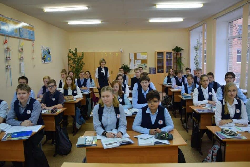 На уроке в школе №27
