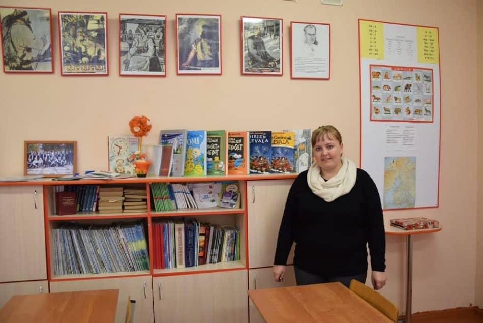 Ольга Волкова, учитель финского языка