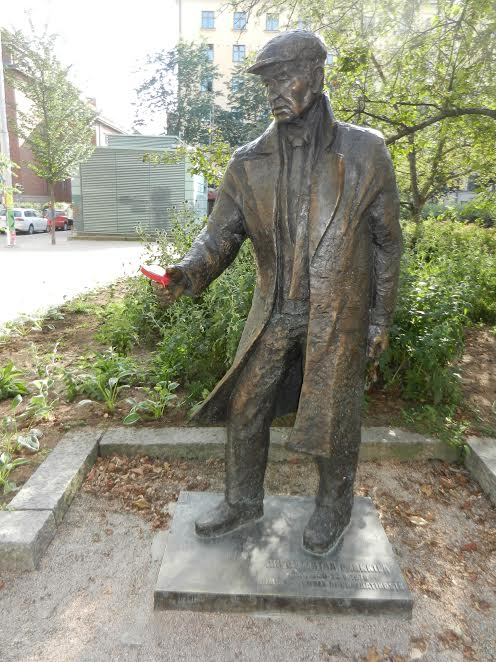 Памятник Арво Кустаа Парккила