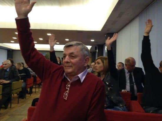 Голосование против проекта администрации Петрозаводска