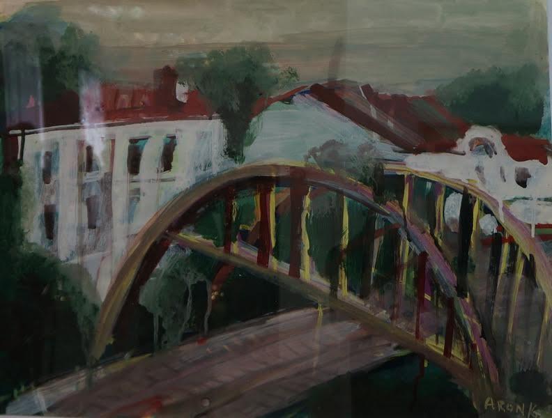 Арон Зинштейн. Мост в Вене