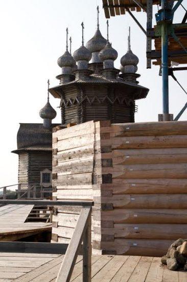 Реставрация Преображенской церкви Кижского погоста