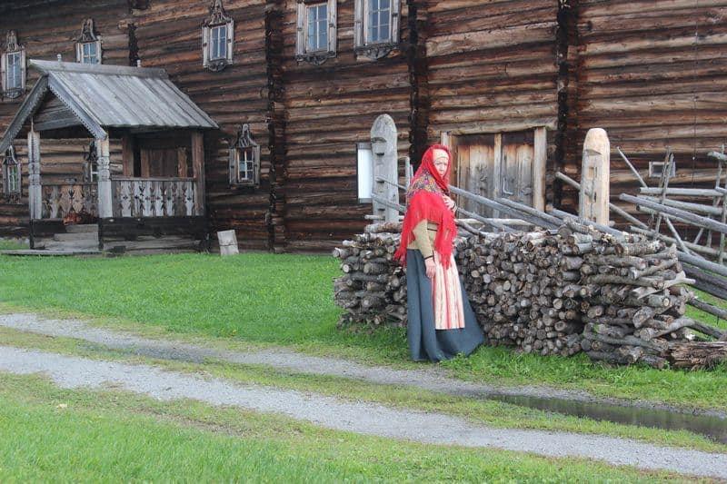 Елена Бычкова в шведском сериале