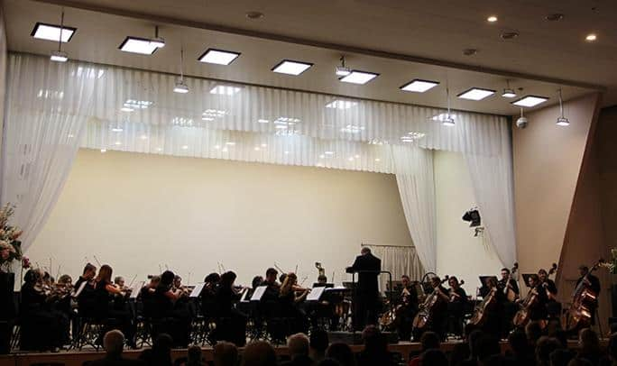 На концерте XVII пленума композиторской организации Карелии