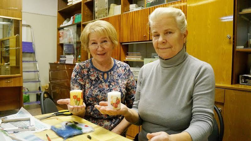 Ирина Голикова и Татьяна Воронина готовы в центре проводить все время