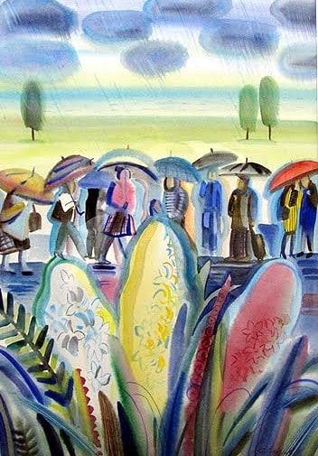 Анастасия Стенина (Санкт-Петербург). Весенний дождь. Почетный диплом жюри