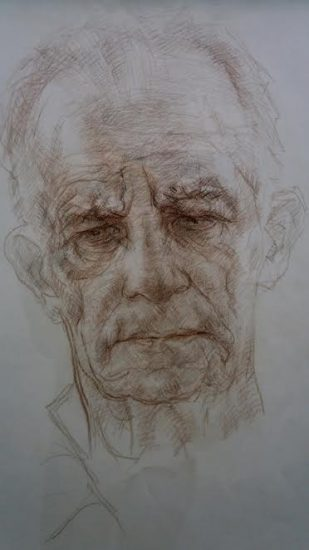 Борис Кукшиев. Портрет художника Александра Каштанова