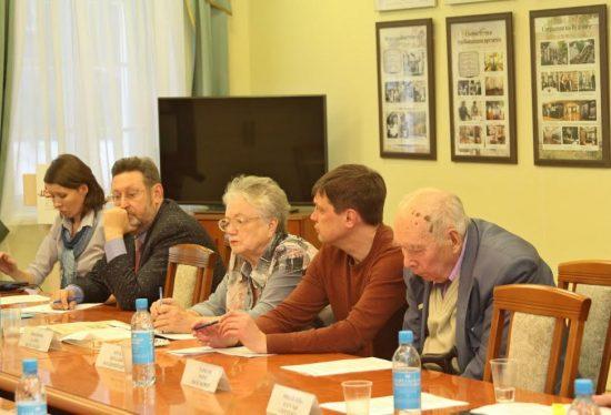На первом заседании Оргкомитета по подготовке и проведению празднования в 2017 году 190-летия со дня рождения Ирины Андреевны Федосовой. 11 ноября 2016 года