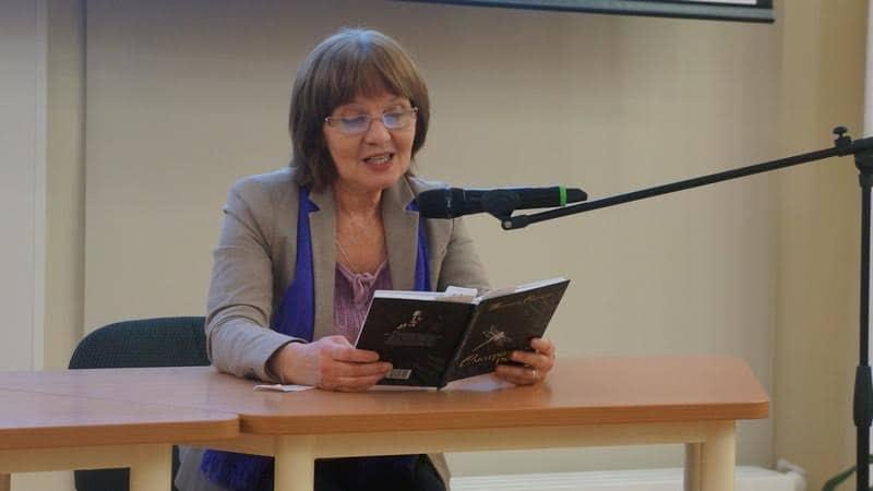 Галина Козулина прочитала отрывки из повестей Владимира Софиенко