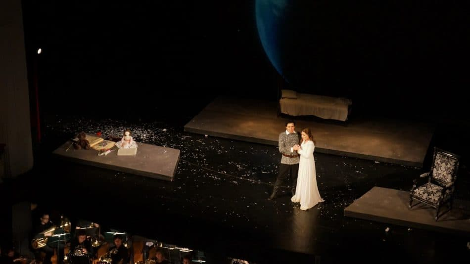 """Эскиз оперы """"Иоланта"""". Фото Ирины Ларионовой"""