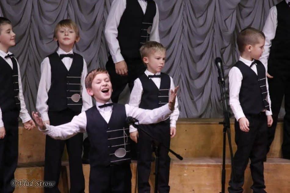 Хор мальчиков хоровой студии «Камертон» (Санкт-Петербург)
