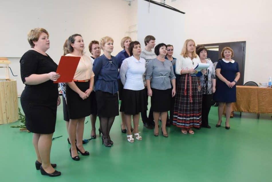 Коллектив педагогов Шокшинской школы