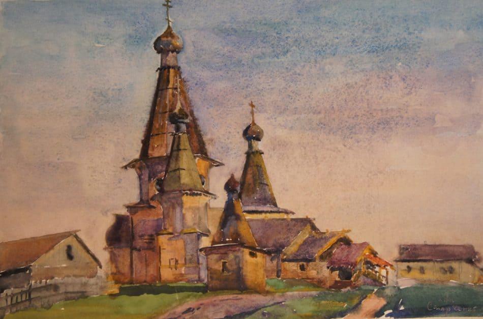 М. Старченко. Кемский собор