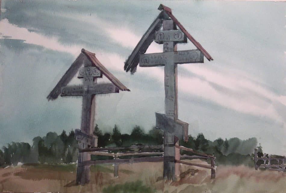М. Старченко. Кимжа. Кресты