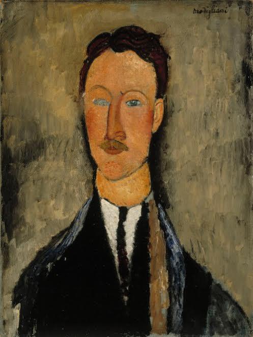Портрет художника Леопольда Сюрважа. 1918