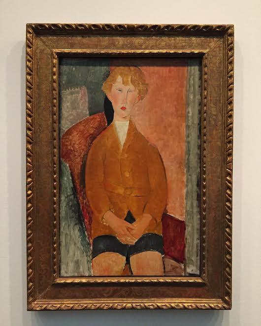 Портрет мальчика в коротких штанах. 1918