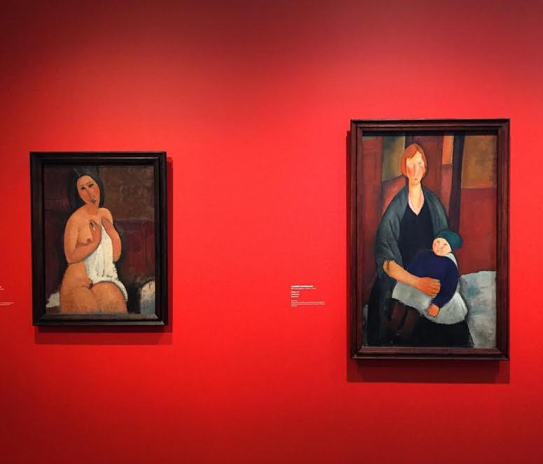 Выставка Модильяни в Ateneum