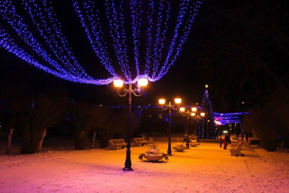 Сортавала - новогодняя столица России. Фото Михаила Мешкова