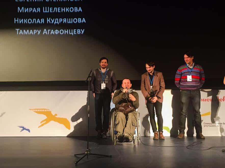 На презентации фильма в Москве