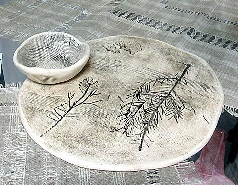 Наталья Чехонина (изостудия «Соцветие»). Набор «Живая кухня». Белая керамика