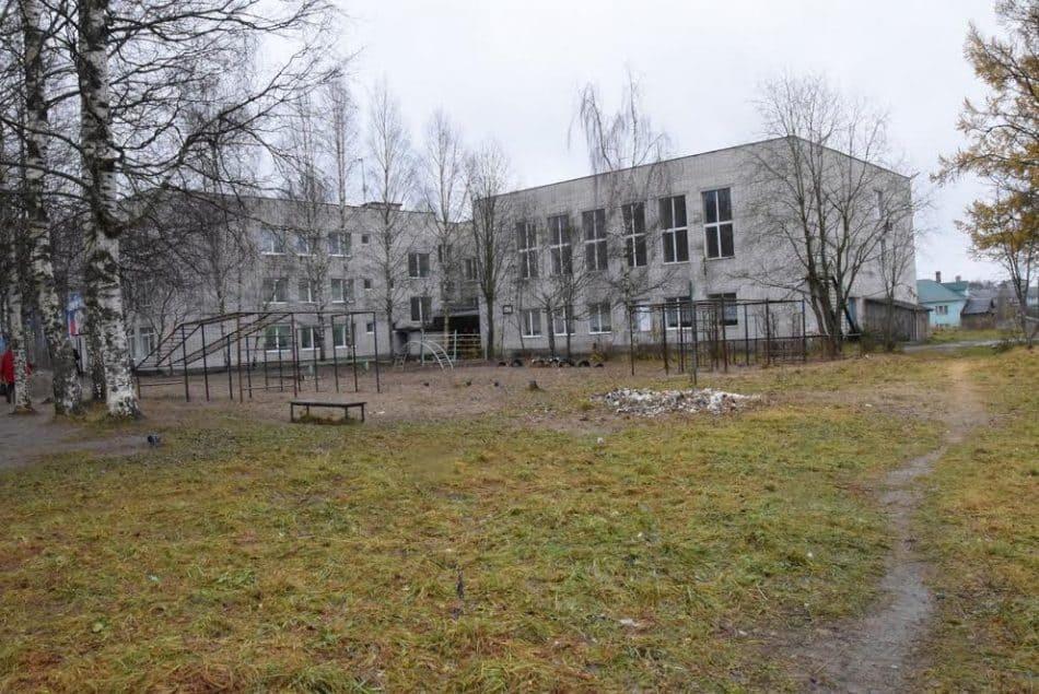 Школа в Пряже