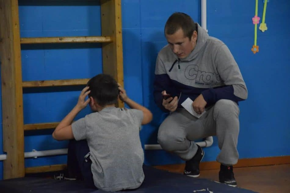 Соревнования мальчиков