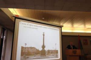 Предложение администрации возвести стелу на набережной в створе проспекта Ленина не набрало и половины голосов присутствующих на публичных слушаниях 28 октября