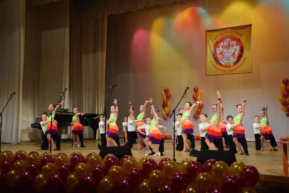 Танцевальный коллектив гимназии