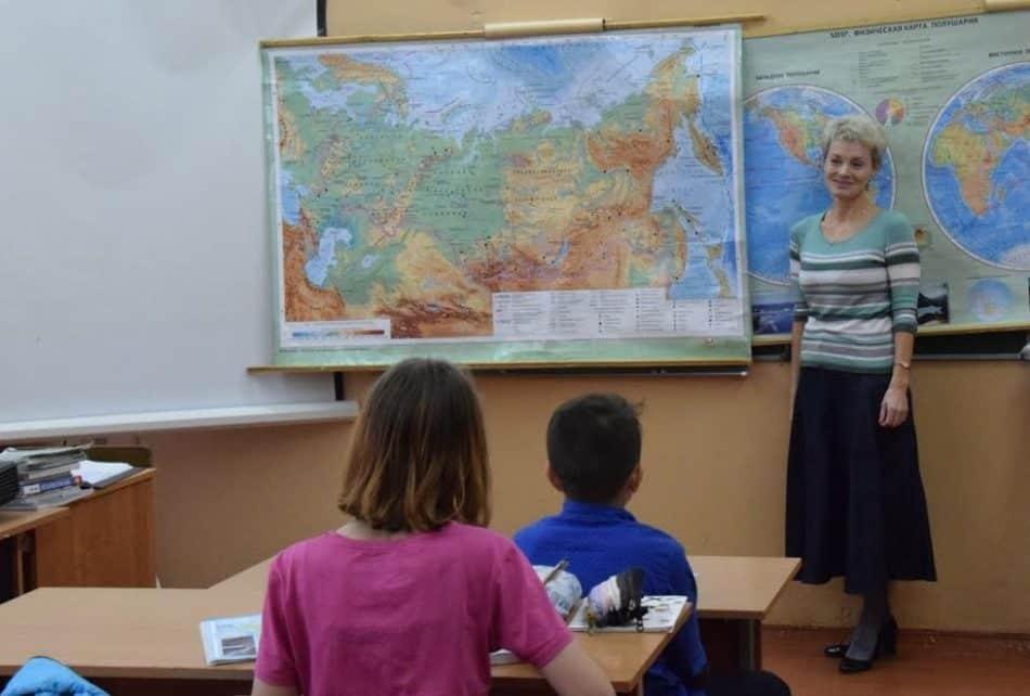 В Пряжинской школе