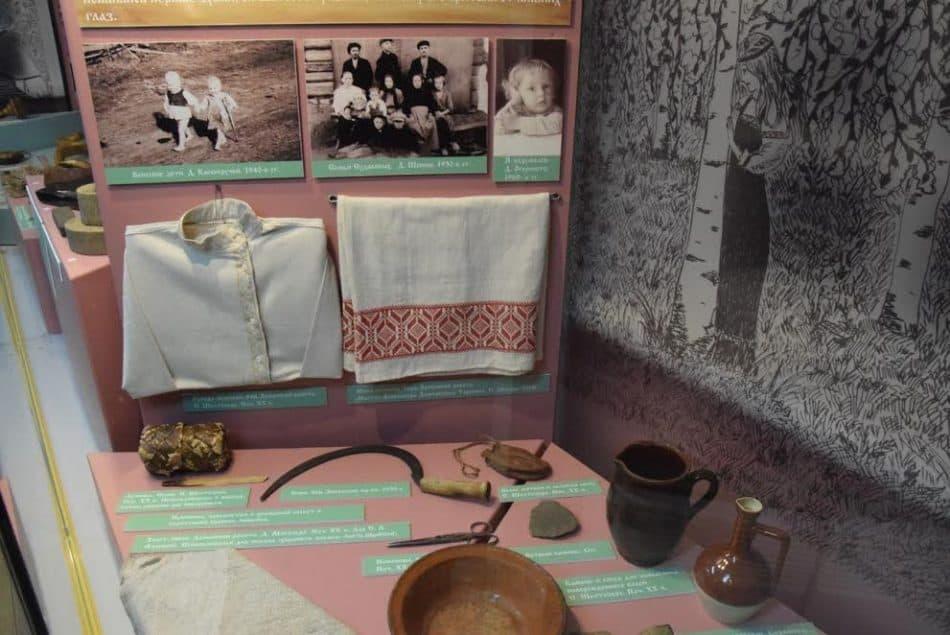 В Шелтозерском музее