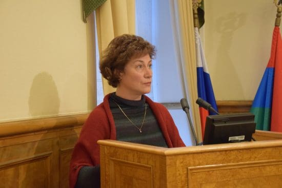 Татьяна Васильева. Фото Марии Голубевой