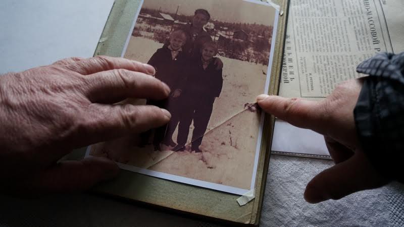 Старые фотографии навевают воспоминания...