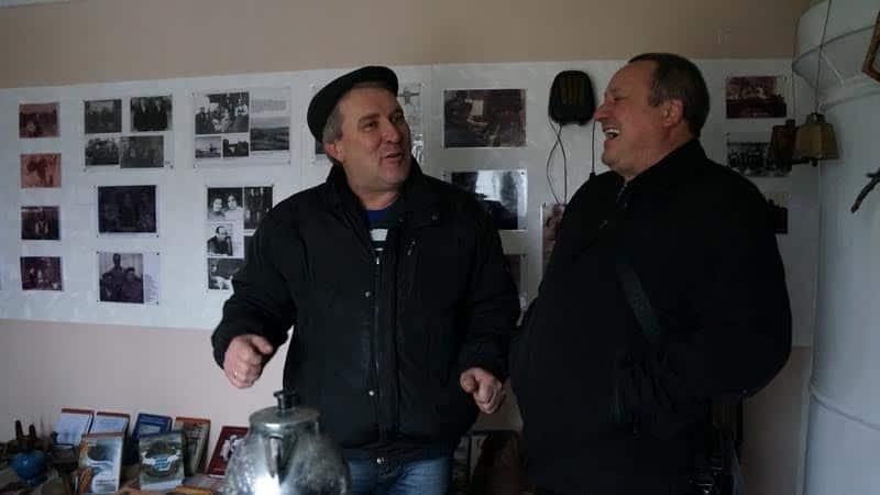 Николай Маликин и Андрей Ватанен вспоминают молодость. Спасибо музею!