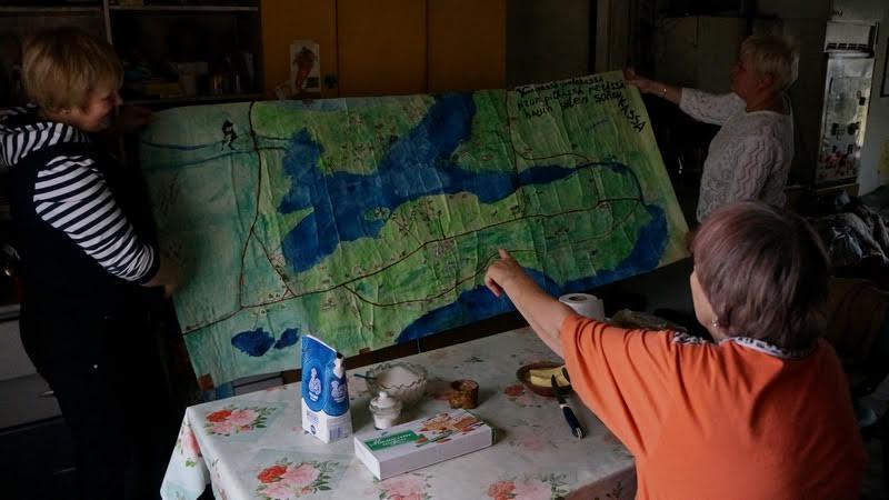 Карта Алмы Сапожниковой. Деревня должна жить!
