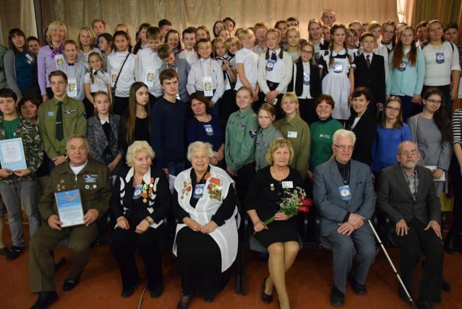 Встреча в школе № 3 единомышленников по поисковой работе из Карелии, Москвы и Санкт-Петербурга