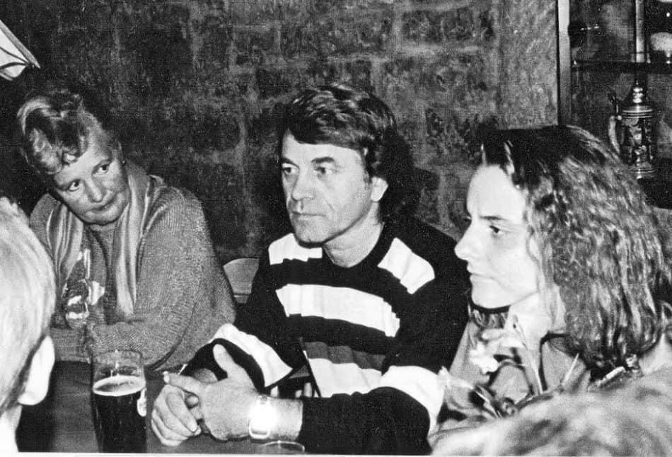 Юрий Андреев с друзьями