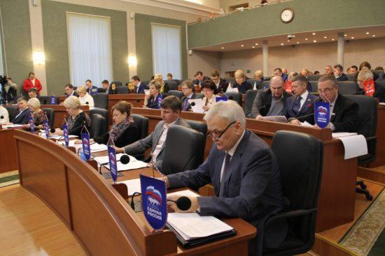 В Законодательном Собрании Карелии. Фото karelia-zs.ru