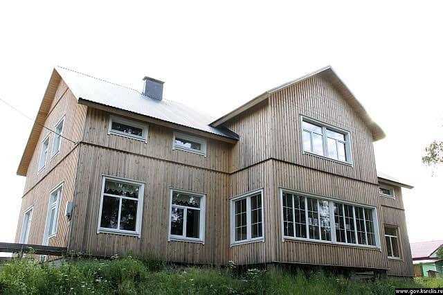 Дом карельского языка. Фото Валентины Акуленко