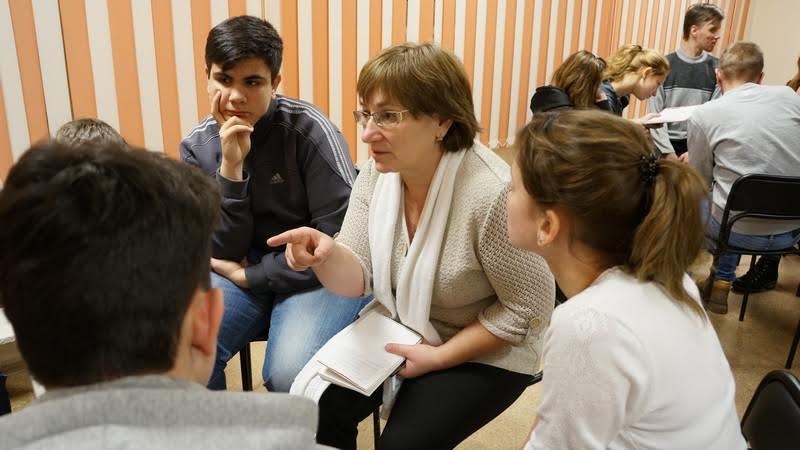 Наталия Петровна Кондакова, преподаватель железнодорожного колледжа. Фото Ирины Ларионовой