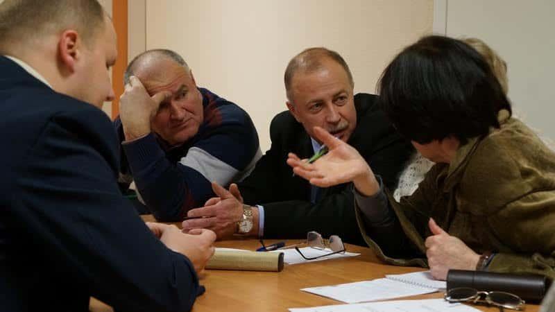 Эксперты. Фото Ирины Ларионовой