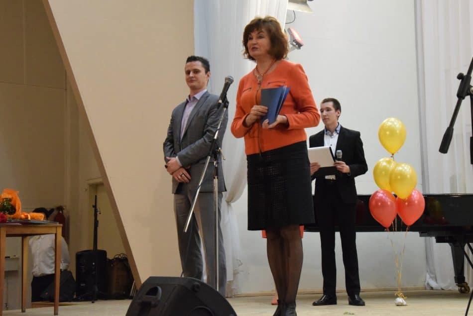 Поздравления от заместителя мэра Петрозаводска Риммы Ермоленко