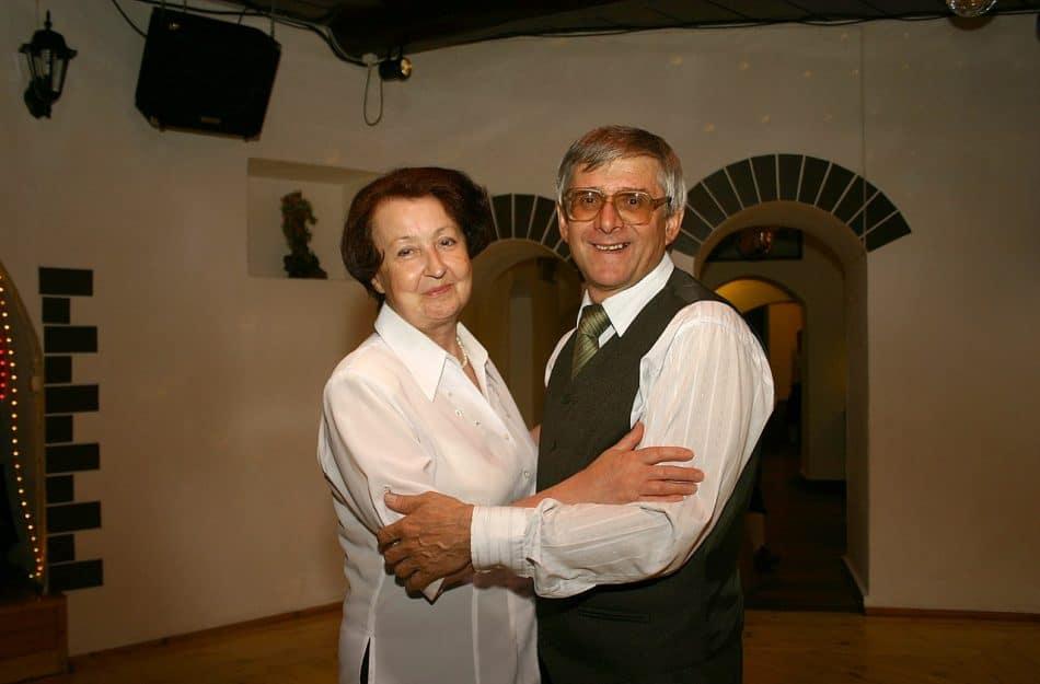 Алла Белозерова и Юрий Шлейкин. Фото Виталия Голубева