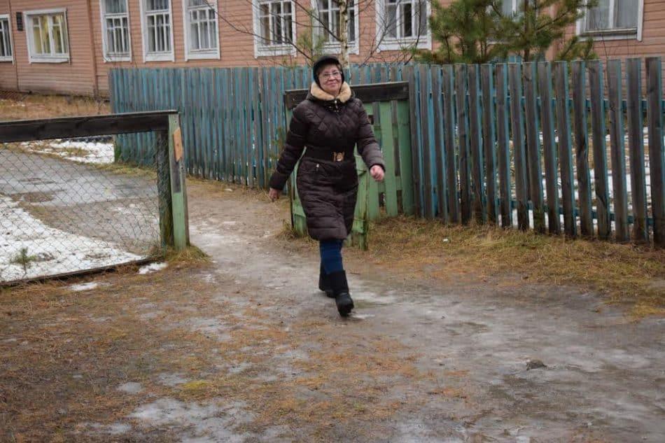 Директор школы Марина Вдовина