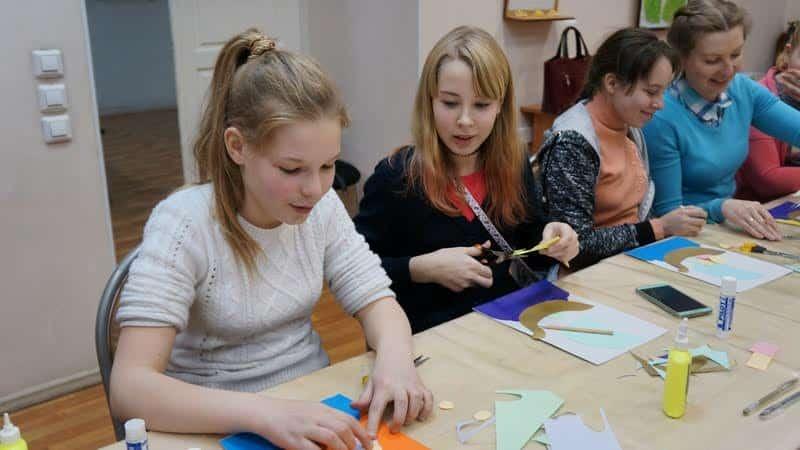 Мастер-класс ведет Мария Смирнова