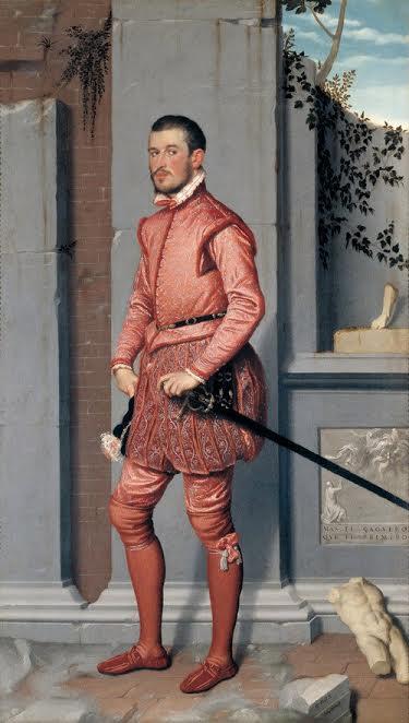Джамбаттиста Морони. Кавалер в розовом