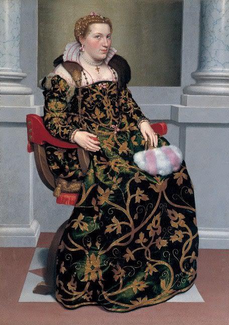 Джамбаттиста Морони. Портрет Изотты Брембатти
